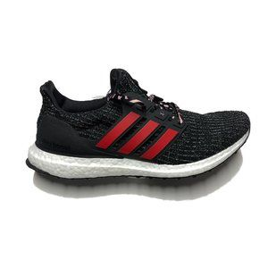 adidas Ultraboost Core Black / Scarlet Mens Shoes